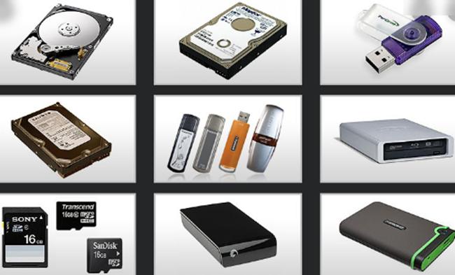 Various Storage Media
